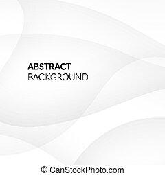 kwestia, abstrakcyjny, gładki, białe tło