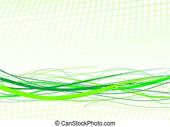kwestia, tło, zielony