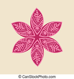 kwiat, dekoracyjny, sprytny