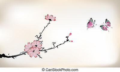 kwiat, malarstwo