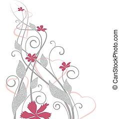 kwiatowa ozdoba