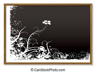 kwiatowy, tablica