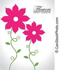 kwiaty, projektować