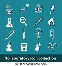 laboratorium, ikony