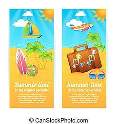 lato, chorągwie, urlop