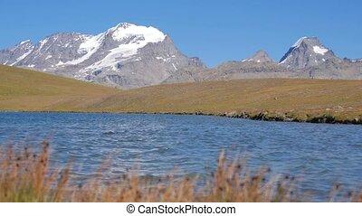 lato, krajobraz, alpejski