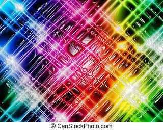 lekki, abstrakcyjny, barwny, tło