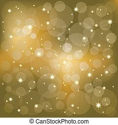 lekki, iskrzasty, gwiazdy, tło