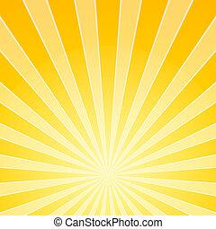 lekki, jasny, żółty, belki