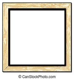 lekki, ułożyć, drewno, obraz