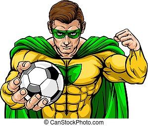 lekkoatletyka, piłka do gry w nogę, superhero, dzierżawa, maskotka