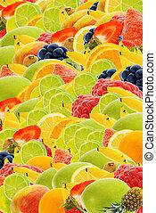letni owoc, tło