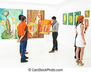 licytacja, sztuka galeria