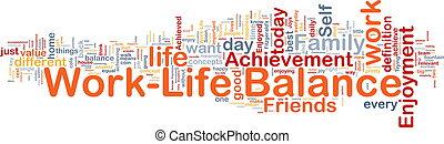 ?life, pojęcie, waga, praca, tło