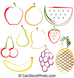 lina sztuka, owoce