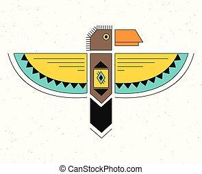 linearny, thunderbird., logo