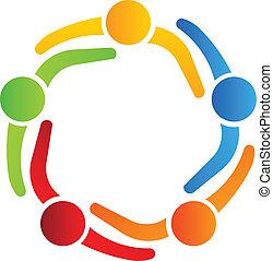 logo, 5, projektować, handlowy wzmacniacz