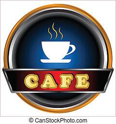 logo, kawiarnia