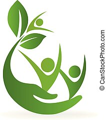 logo, natura, sanitarna troska