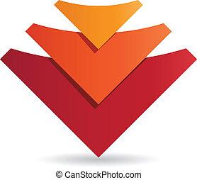 logo, projektować, zbiorowy, szablon