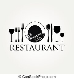 logo, restauracja