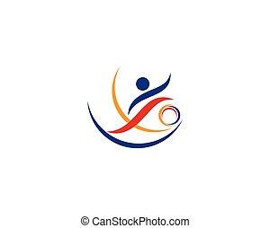 logo, sport, ikona