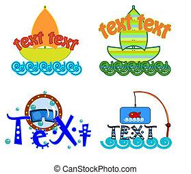 logo, wektor, symbol