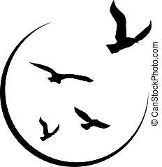 logo, wolność