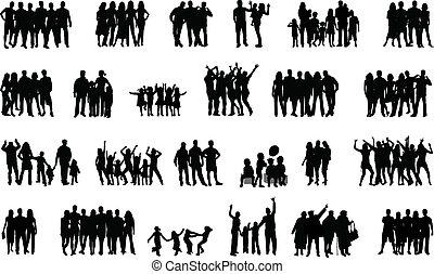 ludzie, grupa