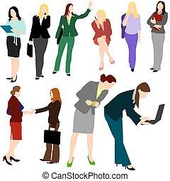 ludzie, -, no.1., handlowe kobiety