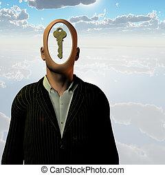 ludzki, klucz