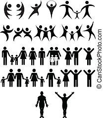 ludzki, symbol