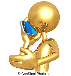 mówiąc, cellphone