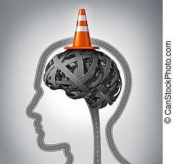 mózg, ludzki, naprawa