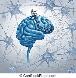 mózg, medyczne badanie