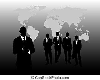 mężczyźni, handlowy