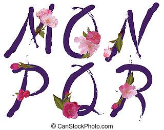 m, wiosna, beletrystyka, alfabet