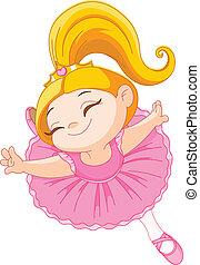 mały, balerina