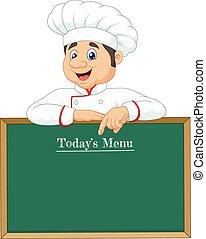 mały, chorągiew, mistrz kucharski, spoinowanie