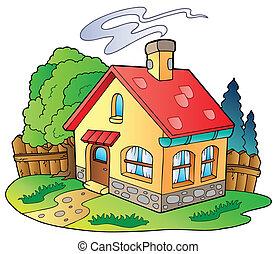 mały dom, rodzina
