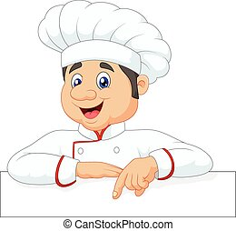 mały, rysunek, mistrz kucharski, spoinowanie