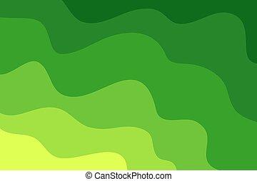 machać, tło., zielony abstrakt