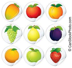 majchry, owoce