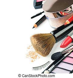 makijaż, wyroby, barwny