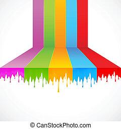 malować, multicolor