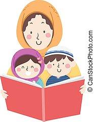 mamusia, muslim, książka, przeczytajcie, storytelling, dzieciaki
