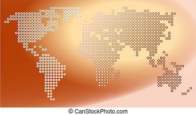 mapa, kropka