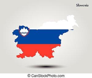 mapa, slovenia