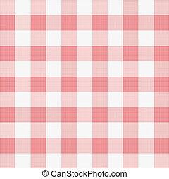 materiał, ilustracja, wektor, piknik, czerwony