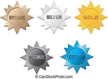 medal, odznaka